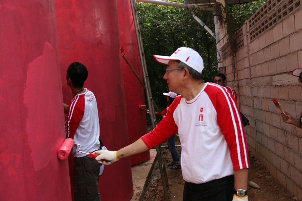 ดร.สุทัศน์ เปิดกิจกรรมอาสาโครงการชุมชนแห่งการเรียนรู้และอยู่ดีมีสุข ชุมชนบ้านแม่ตาลน้อย