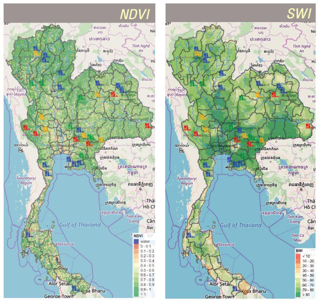 ระบบติดตามภัยแล้ง ( Drought Monitoring System )