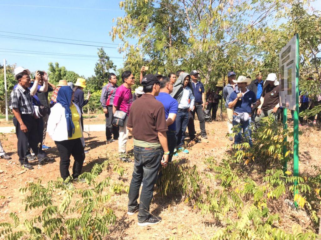 สสน.ร่วมกับภาคีเครือข่าย จัดงานเเลกเปลี่ยนเรียนรู้การจัดการน้ำลุ่มน้ำชี พร้อมสร้างฝาย รักป่า รักน้ำ