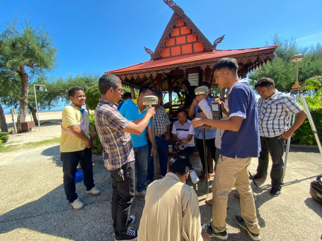 HII organized a workshop on the utility of Geographic Information System (GIS) – Surveying technology for planning the Water Resource Development at Songkhla province (2nd Round)