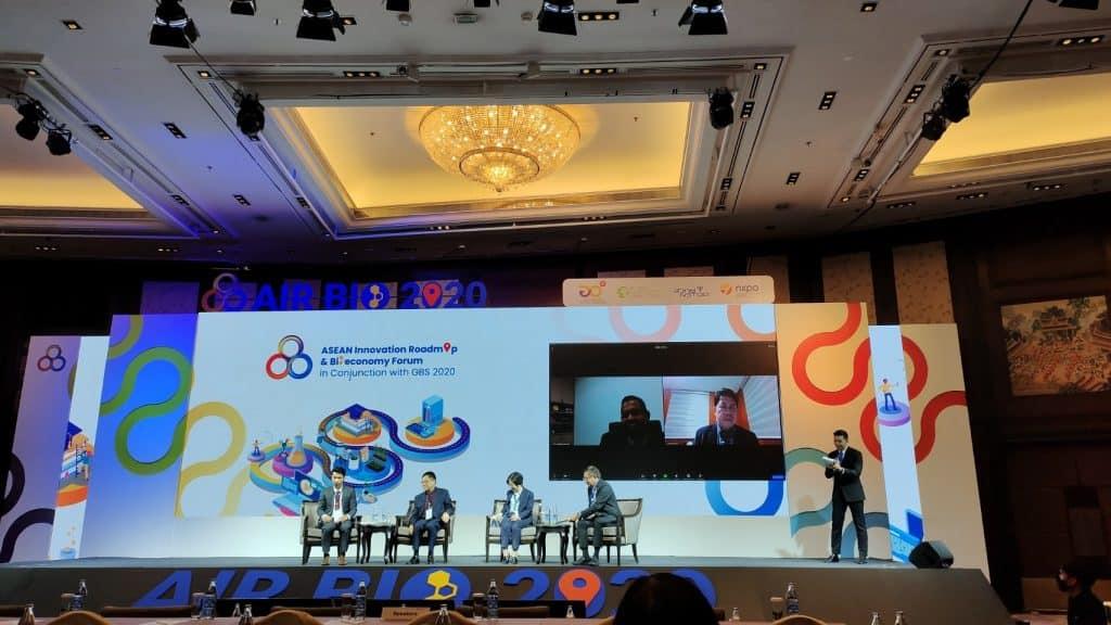 """ดร.สุทัศน์ บรรยายพิเศษ """"งานประชุมนานาชาติด้านนวัตกรรมและเศรษฐกิจฐานชีวภาพ"""" มุ่งเป้าขับเคลื่อนงานความร่วมมือด้าน วทน. กับอาเซียน"""