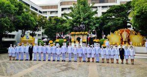 ดร.สุทัศน์ ร่วมพิธีวางพุ่มใน วันเทคโนโลยีของไทย